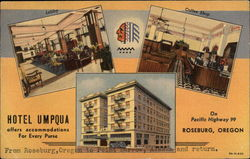 Hotel Umpqua - Offers Accommodations For Every Purse