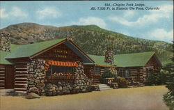 Chipita Park Lodge, Alt. 7,500 Ft
