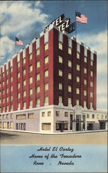 Hotel El Cortez - Home of The Trocadero Postcard