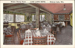 Winter Dining Room... Lake Lawn Hotel