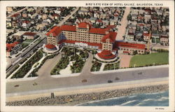Bird's-Eye View of Hotel Galvez