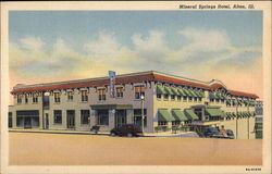 Mineral Springs Hotel Postcard