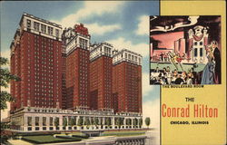 The Conrad Hilton Postcard