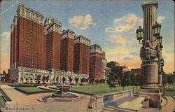 The Conrad Hilton Hotel Postcard
