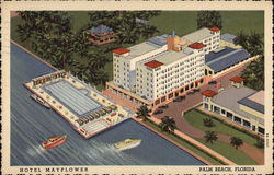 Hotel Mayflower Postcard