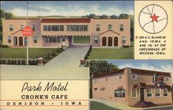 Park Motel, Cronk's Cafe