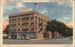 Burton Hotel, Completely air-conditioned