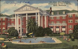 Hotel Biloxi-MacArthur Overlooking the Gulf of Mexico