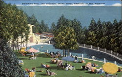 Swimming Pool and Grounds, Grand Hotel