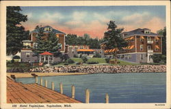 Hotel Topinabee Postcard