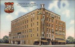 Hotel Will Rogers - Dedicated to Will Rogers, the World's Greatest Humorist
