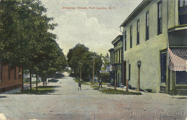 Douglass Street Port Leyden New York