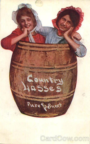 Country Lasses in a Barrel Romance & Love
