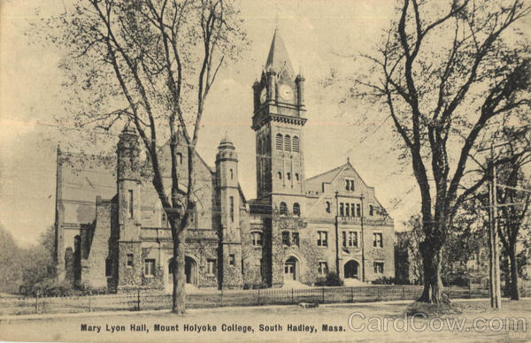 Mary Lyon Hall, Mount Holyoke College South Hadley Massachusetts