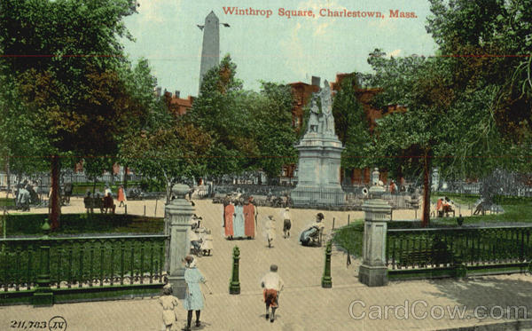 Winthrop Square Charlestown Massachusetts