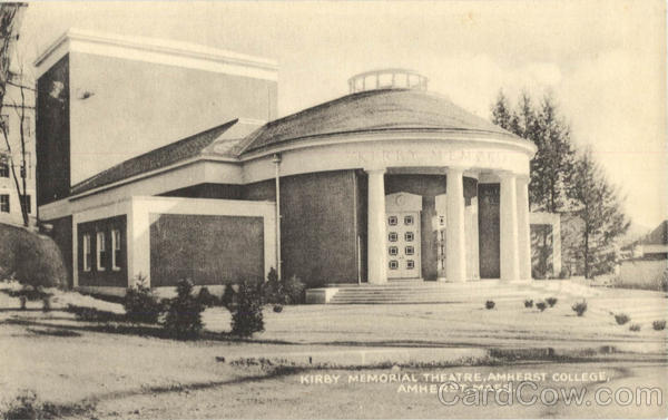 Kirby Memorial Theatre, Amherst College Massachusetts