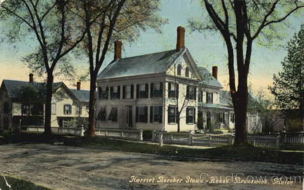 Harriet Beecher Stowe House Brunswick Maine