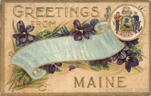 Greetings From Maine Scenic