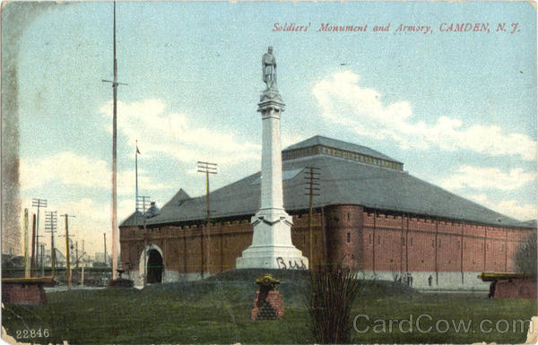 Soldiers Monument And Armory Camden New Jersey