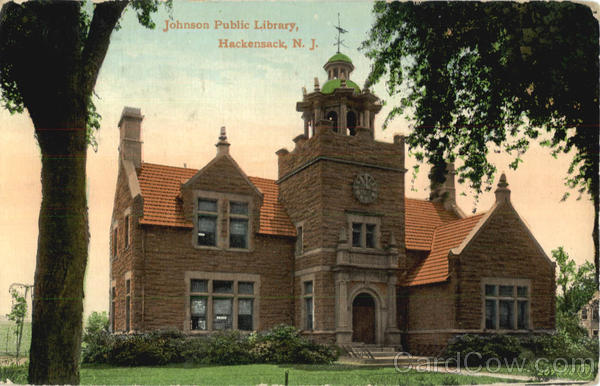 Johnson Public Library Hackensack New Jersey