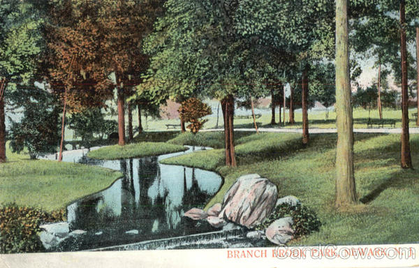 Branch Brook Park Newark New Jersey