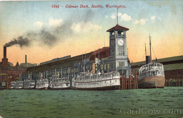 Colman Dock Seattle Washington