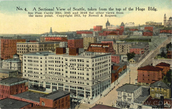 A Sectional View Of Seattle Washington