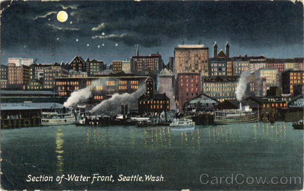 Section Of Water Front Seattle Washington