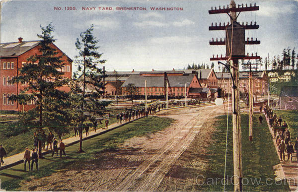 Navy Yard Bremerton Washington