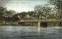 Des Moines River Bridge Postcard