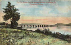 The Pennsylvania Railroad Stone Bridge