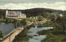 Bay Of Naples Inn From Casino Postcard