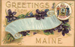 Greetings From Maine