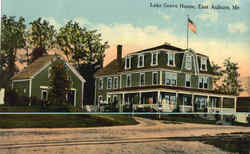 Lake Grove House Postcard