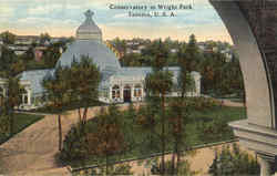 Conservatory In Wright Park