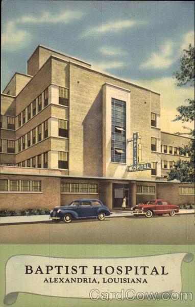 Baptist Hospital Alexandria La