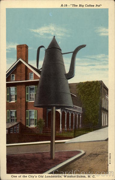 The Big Coffee Pot Winston-Salem North Carolina