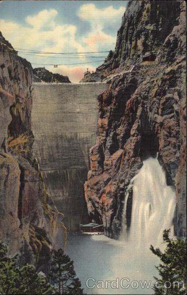 Shoshone Dam Shoshone Canyon Cody Way To Yellowstone