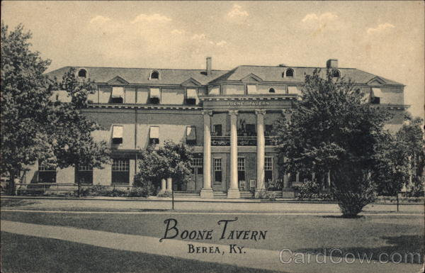 Boone Tavern Berea Kentucky
