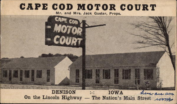Cape Cod Motor Court Denison Iowa