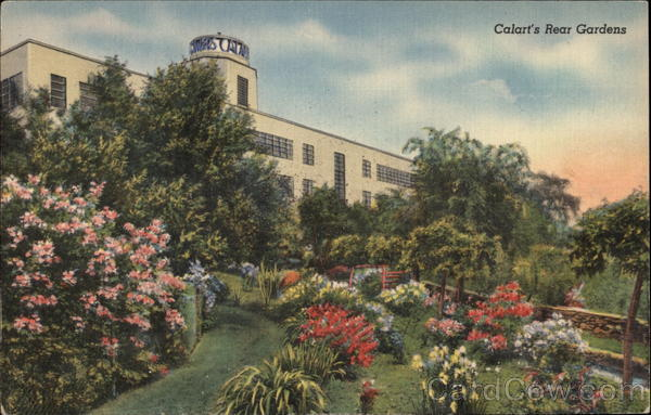 The Calart Building - The Rear Gardens Providence Rhode Island