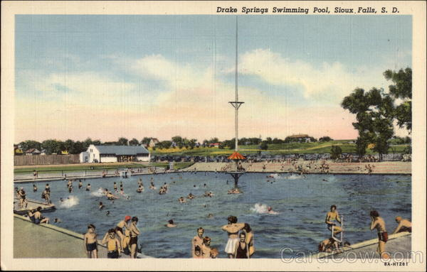 Drake Springs Swimming Pool Sioux Falls Sd
