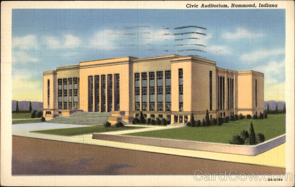Civic Auditorium Hammond Indiana