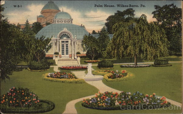 Palm House and Gardens Wilkes-Barre Pennsylvania