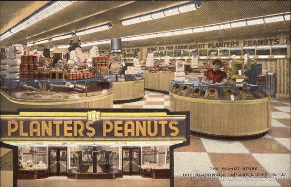 The Planters Peanut Store Atlantic City Nj