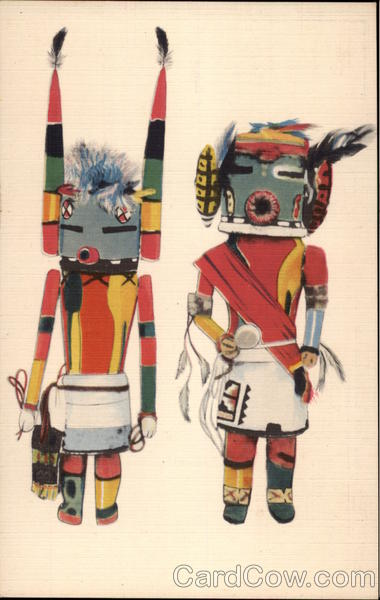 Hopi Kachina Dolls Native Americana
