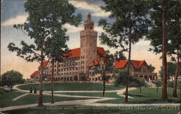 Lookout Mountain Hotel, Lookout Mountain Cattanooga Tennessee