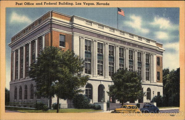 Post Office and Federal Building Las Vegas Nevada