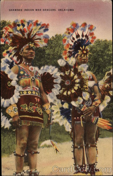 Shawnee Indian War Dancers, Oklahoma Native Americana