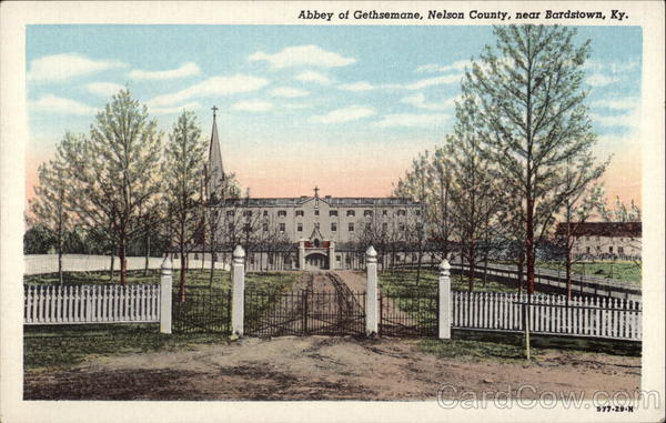Abbey of Gethsemane, Nelson County Bardstown Kentucky